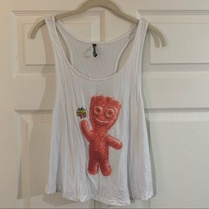 Sour patch kids Cropped tank top